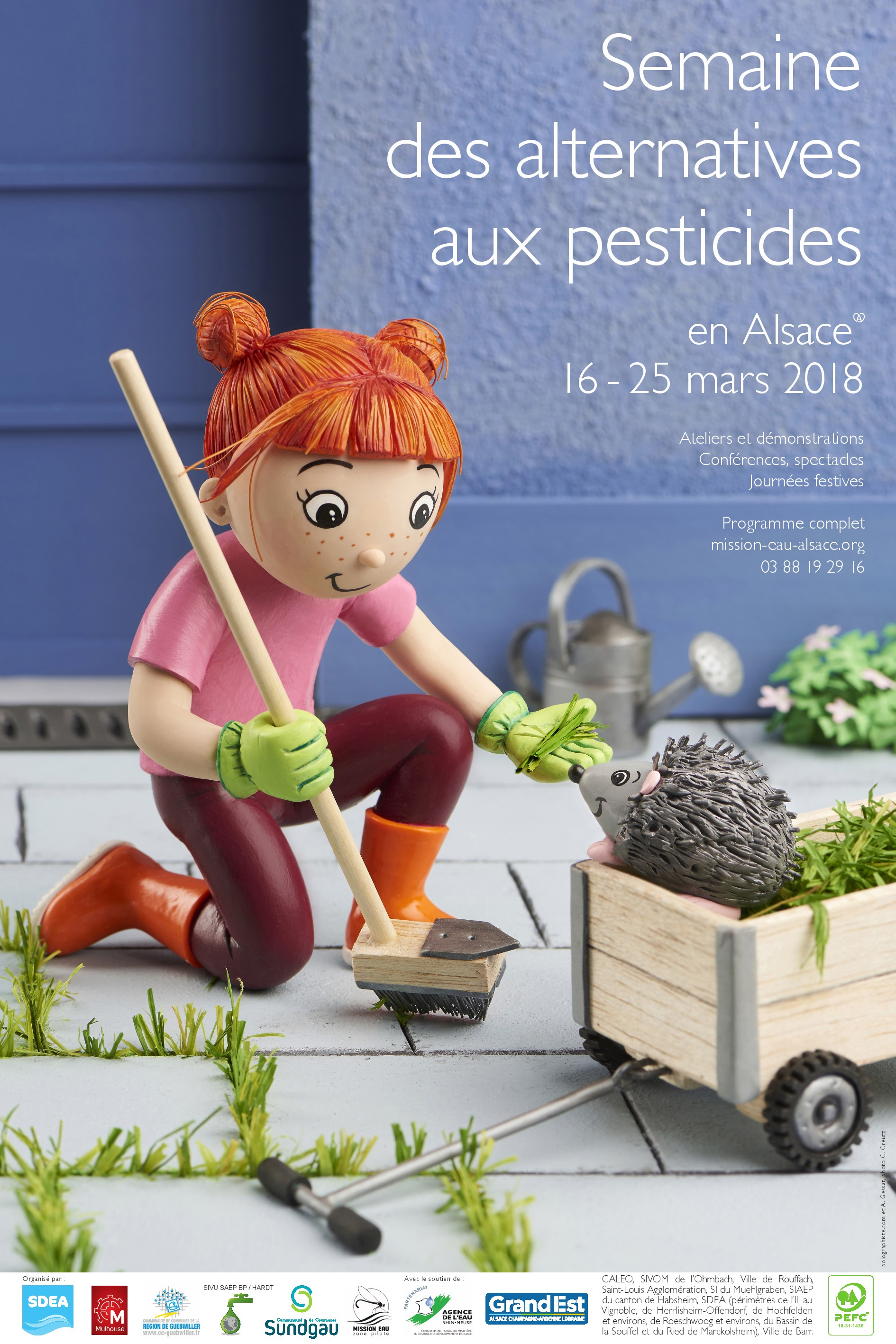 AFFICHE SEMAINE PESTICIDES 2018